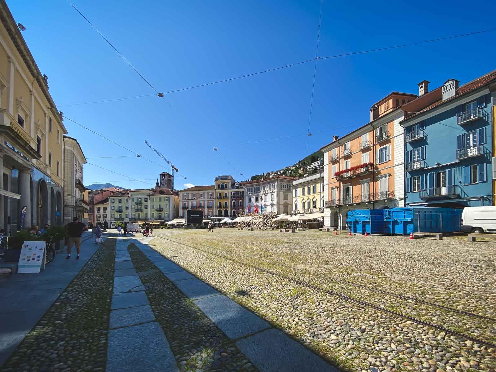 Locarno Piazza in Ticino