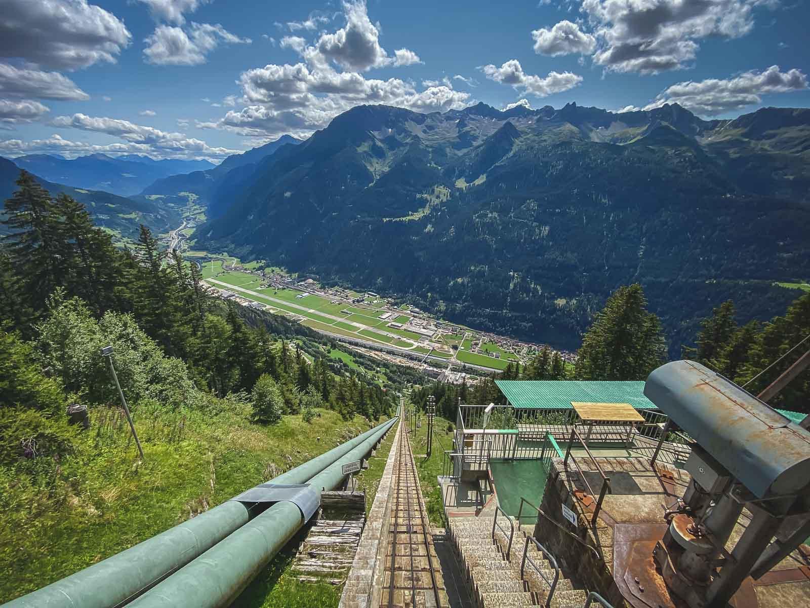 itom Funicular to Piora Ticino