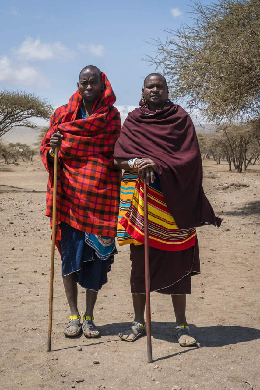 Maasai warriors Tanzania