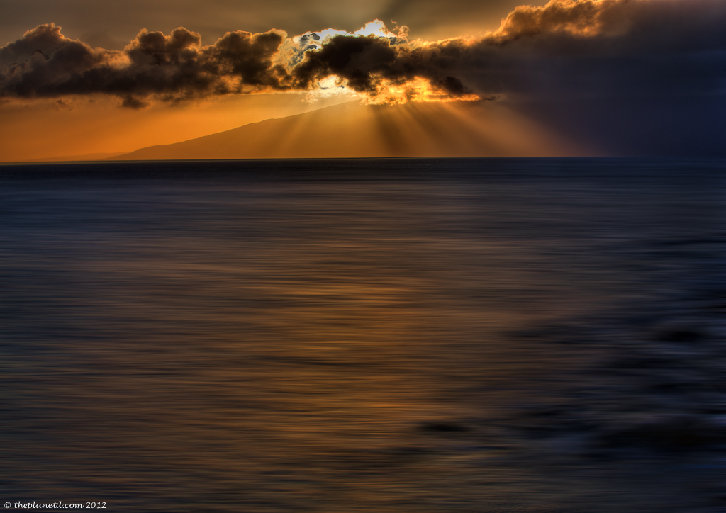 year in pictures maui sunset