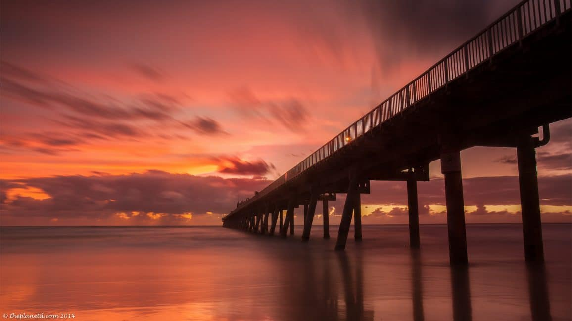 Sunrise in Queensland, Australia