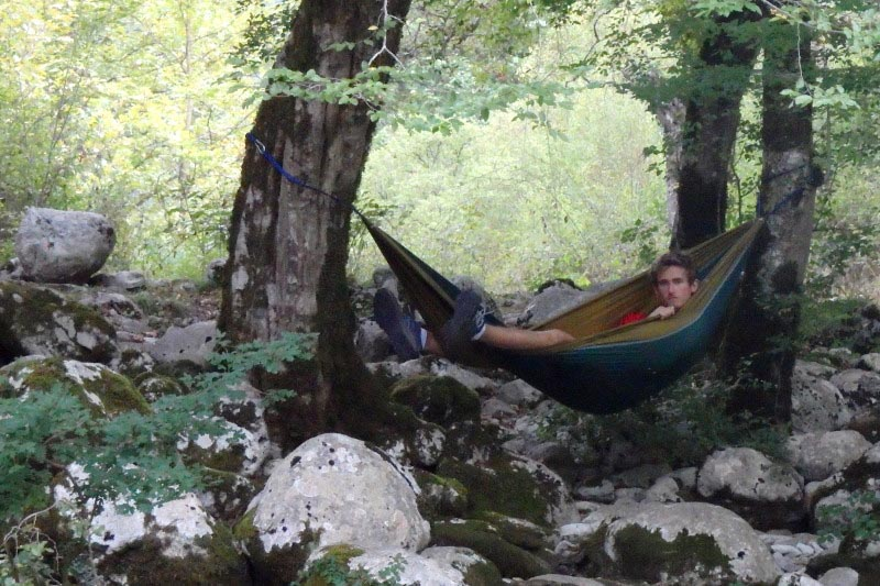 overcoming travel mistakes in a hammock