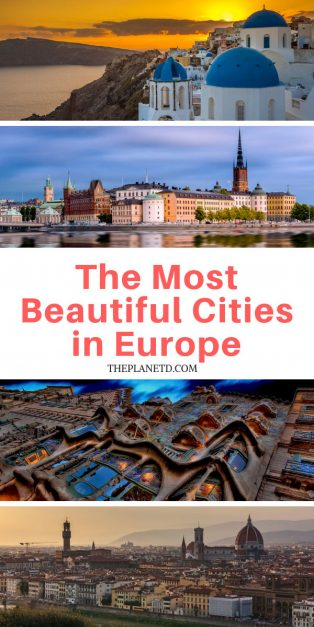 Europe's most beautiful cities