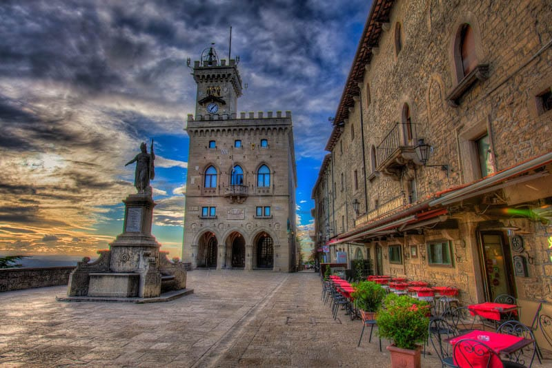 Most Beautiful Cities In Europe San Marino