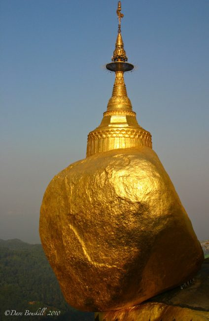 Kyaiktiyo Pagoda aka The Golden Rock, Myanmar