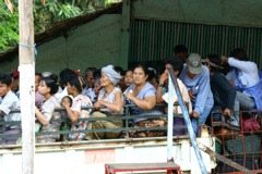 Myanmar-Golden-Rock-Crowded-pick-up-truck