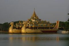 Myanmar's Golden Rock. A Hidden Treasure