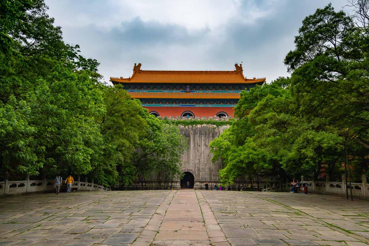 Ming Xiaolin Mausoleum Nanjing