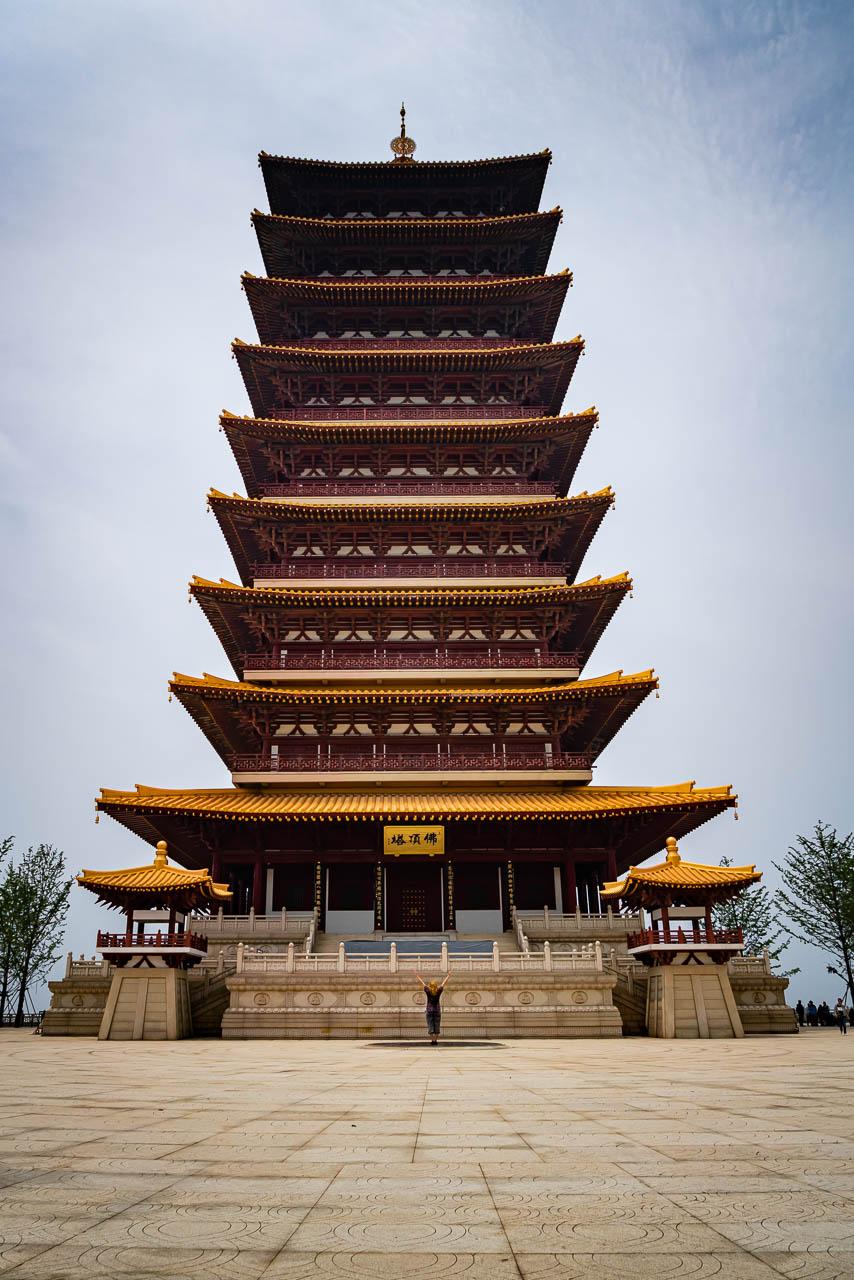Usnisa Pagoda in Nanjing