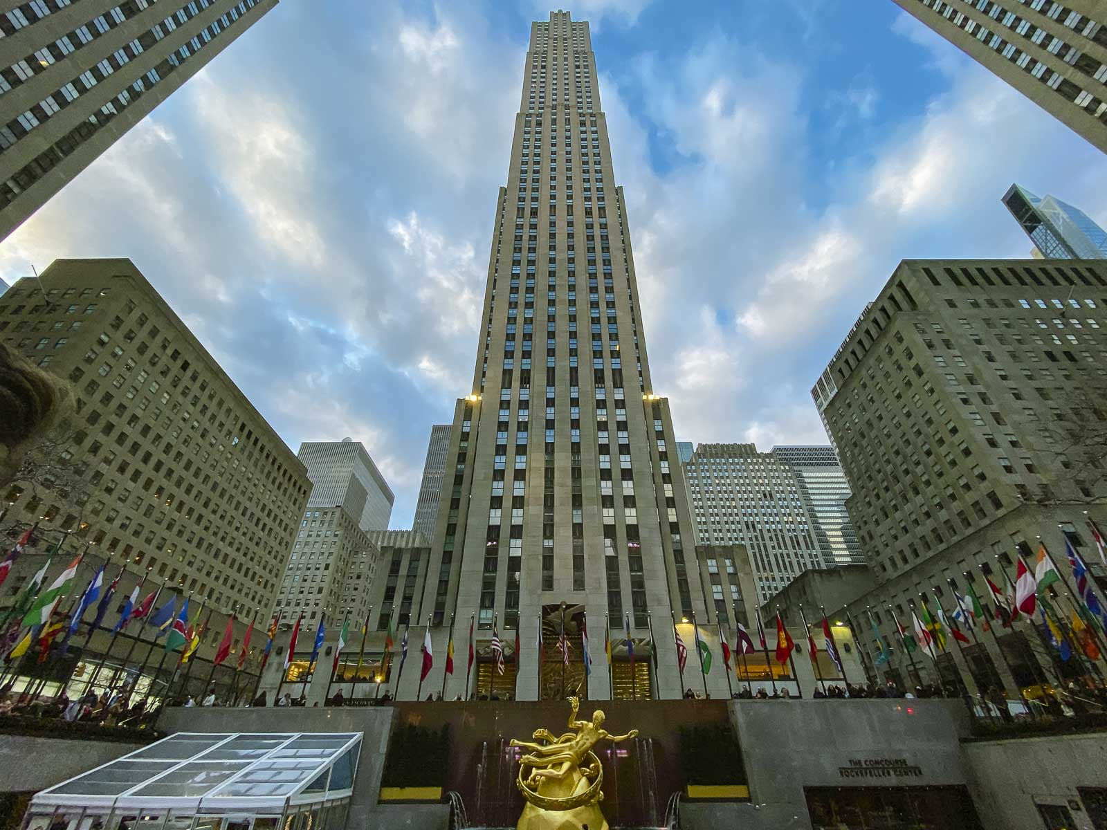 what to do near times square rockefeller centre