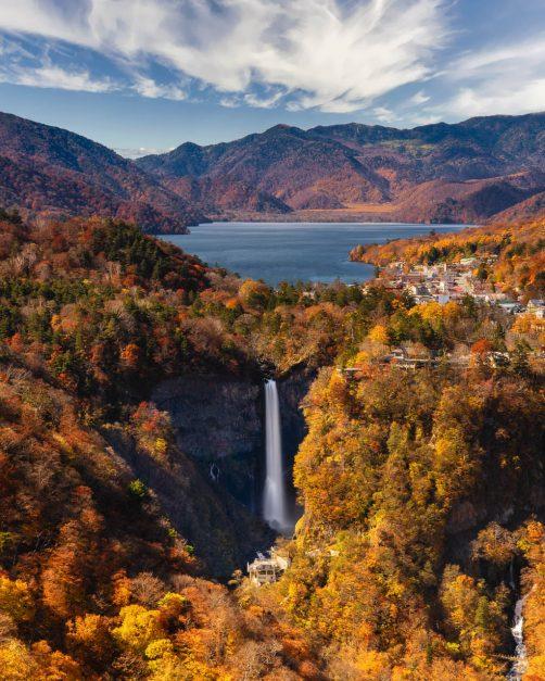 Akechiddaira Ropeway Nikko Japan view