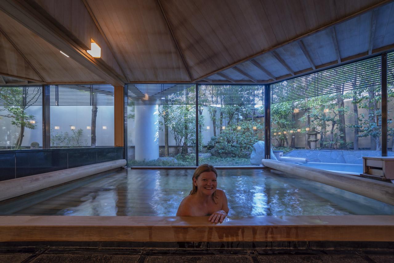 Deb in Japan Public Bath Nikko