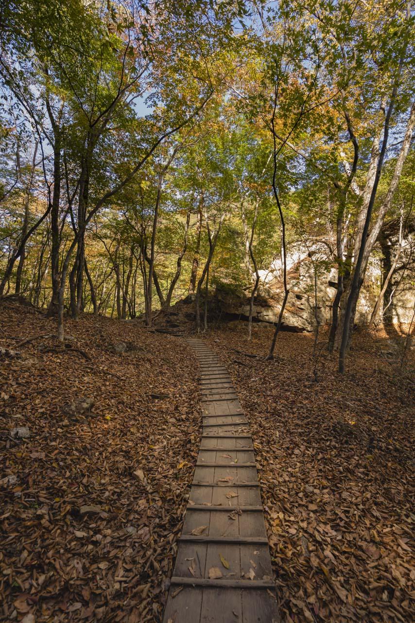 Ryuokyo Canyon Walk Nikko Japan