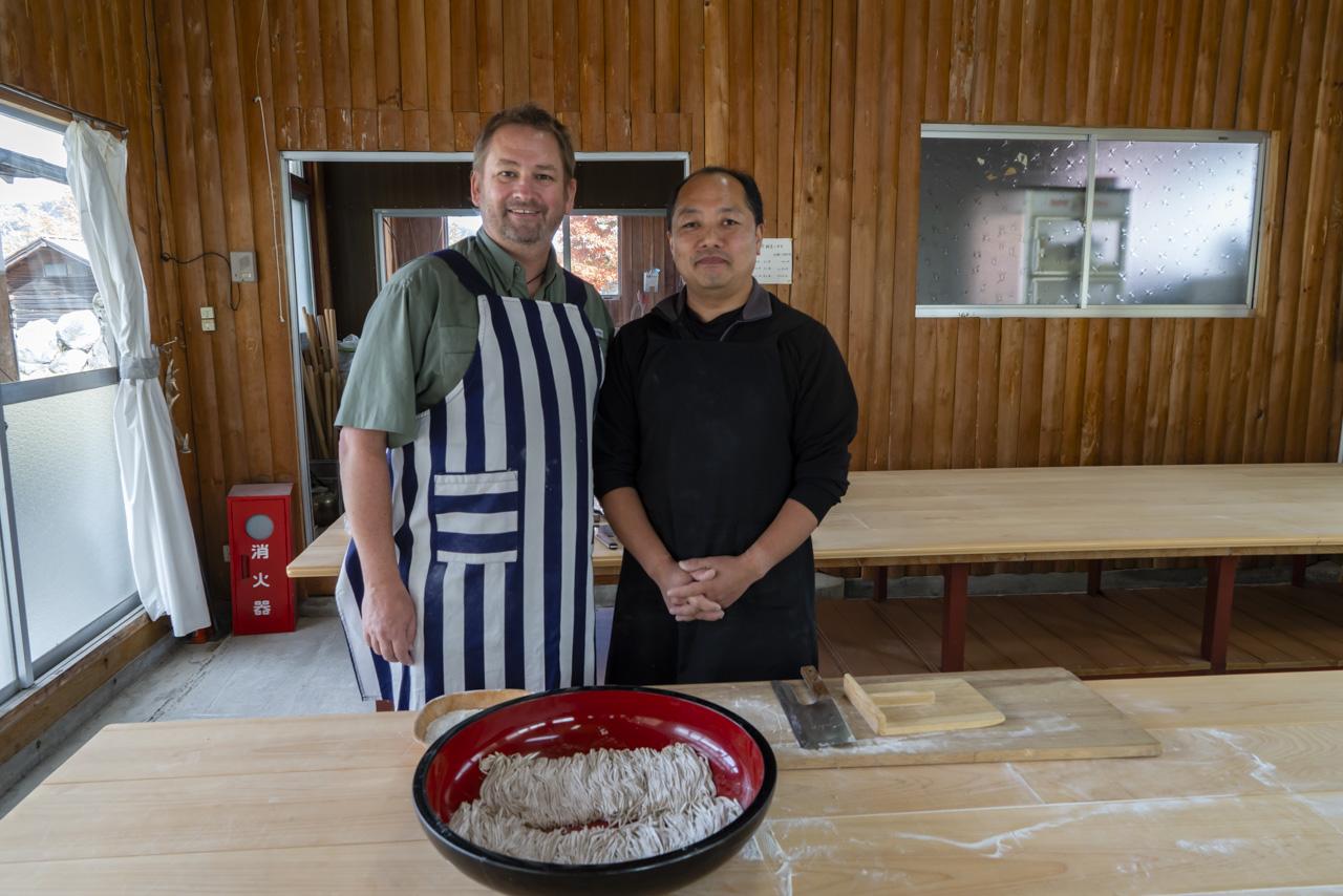 Nikko Japan soba Noodle Making