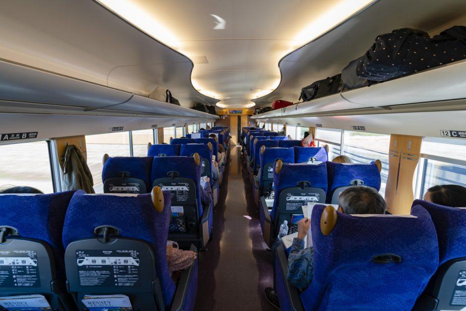 Tobu Train to Nikko Japan