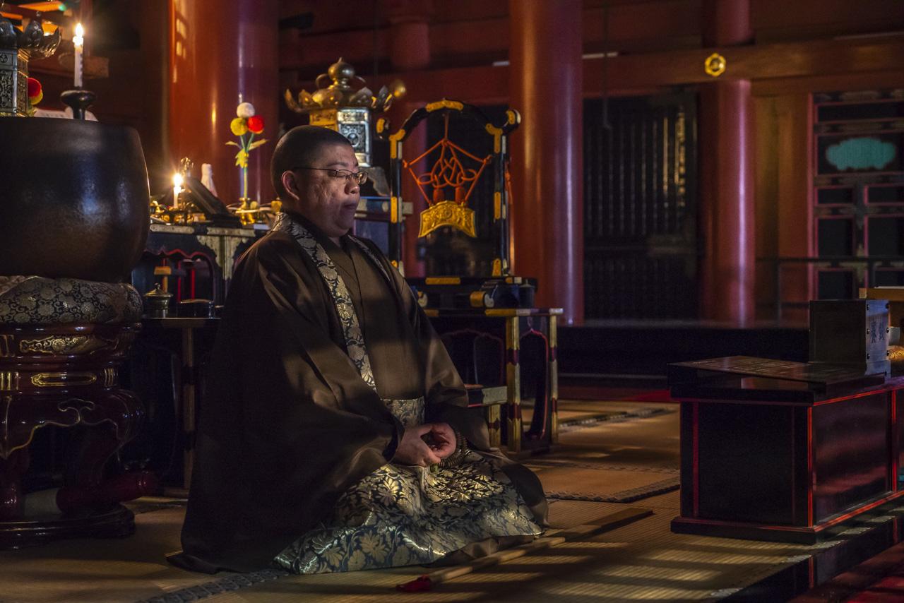 Nikko Japan Monk