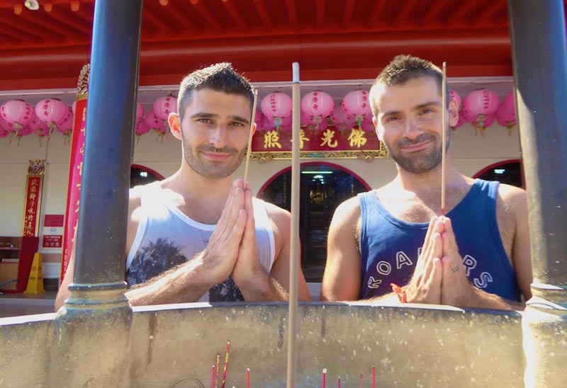 why gay couples travel to asia