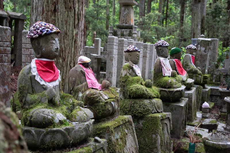 Meet the Little Spirits of Japan's Okunoin Cemetery At Night