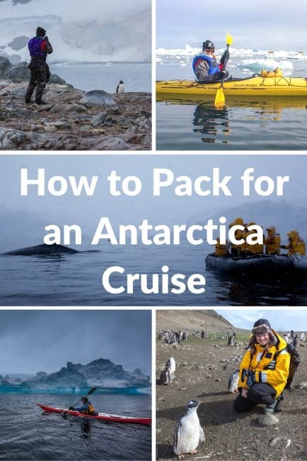 Pack for an Antarctica Cruise