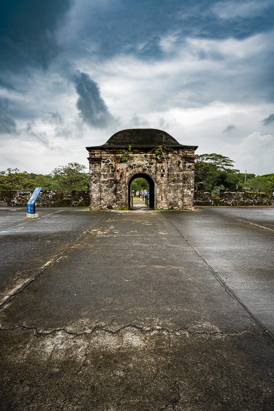 Fort San Lorenzo in Panama