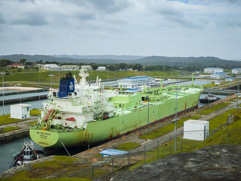 Aguas Clara sur le canal de Panama