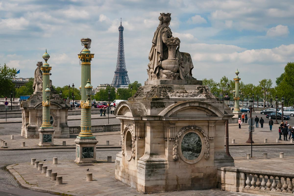 Place de La concorde on your 3 day Paris Itinerary