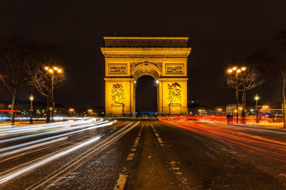 Arc de Triomphe Paris Itinerary