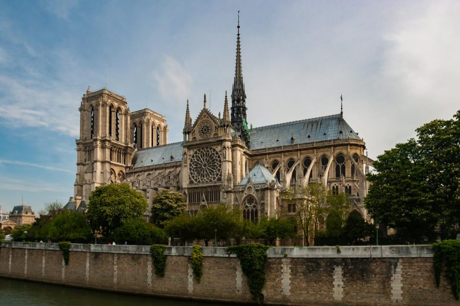 Notre Dame three days in Paris Itinerary