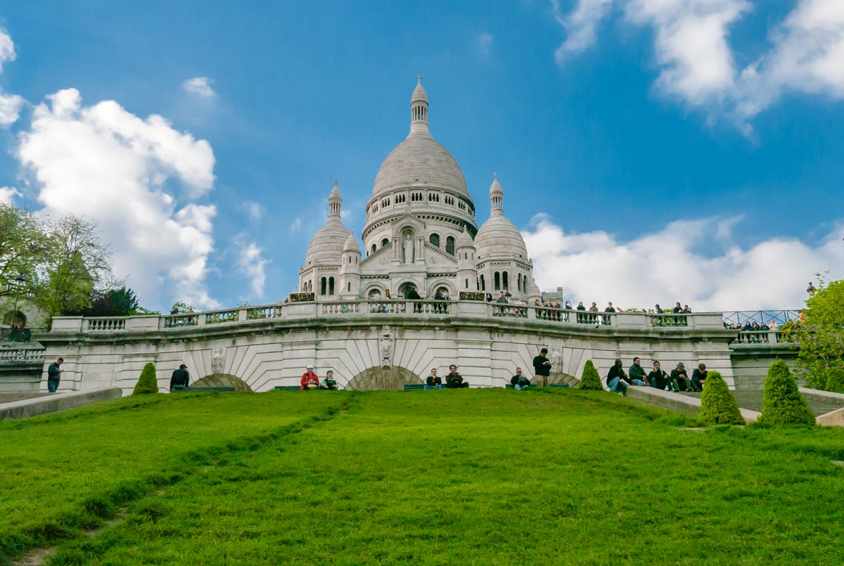 3 Days in Paris Itinerary Sacre Coeur