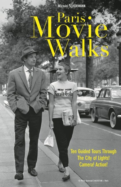 Paris movie walks book cover