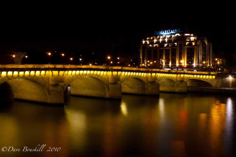 pont neuf and hotel samaritaine