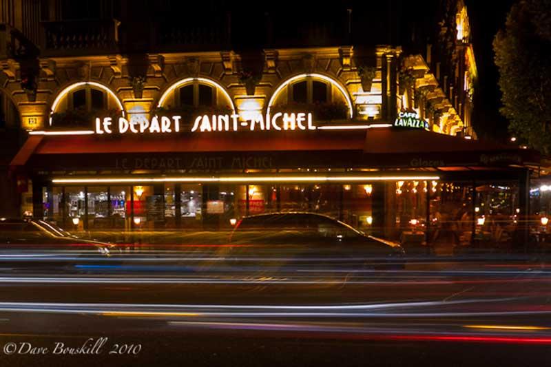 paris night latin quarter