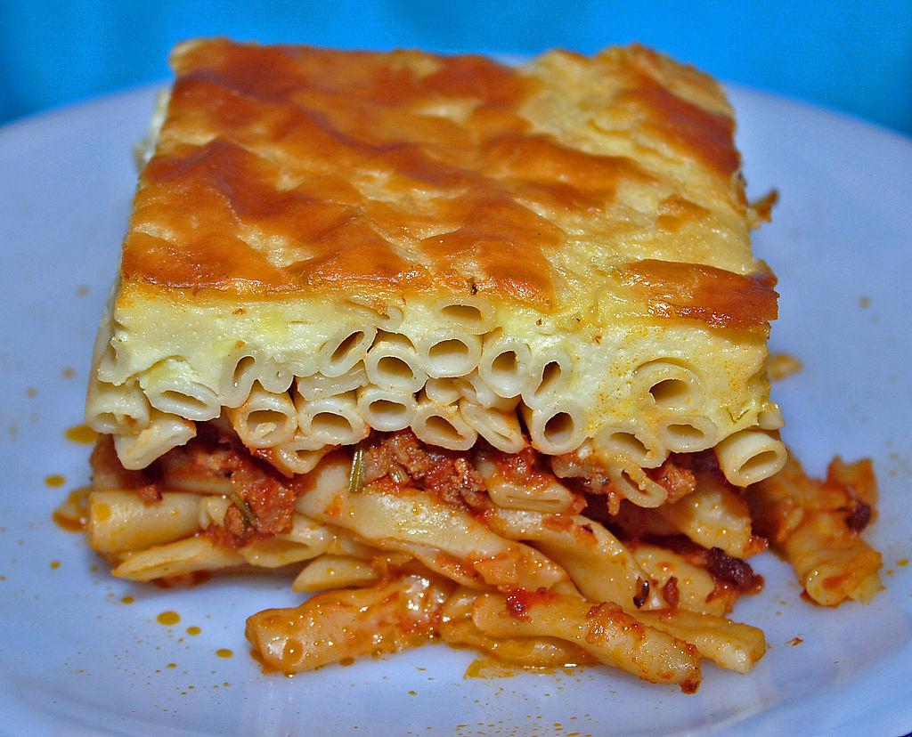 greek dishes pastitsio