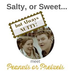 peanuts or pretzels