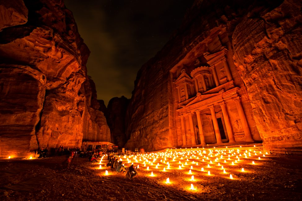 Petra by Night by Colby Brown