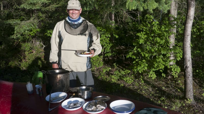 outdoor camp cooking