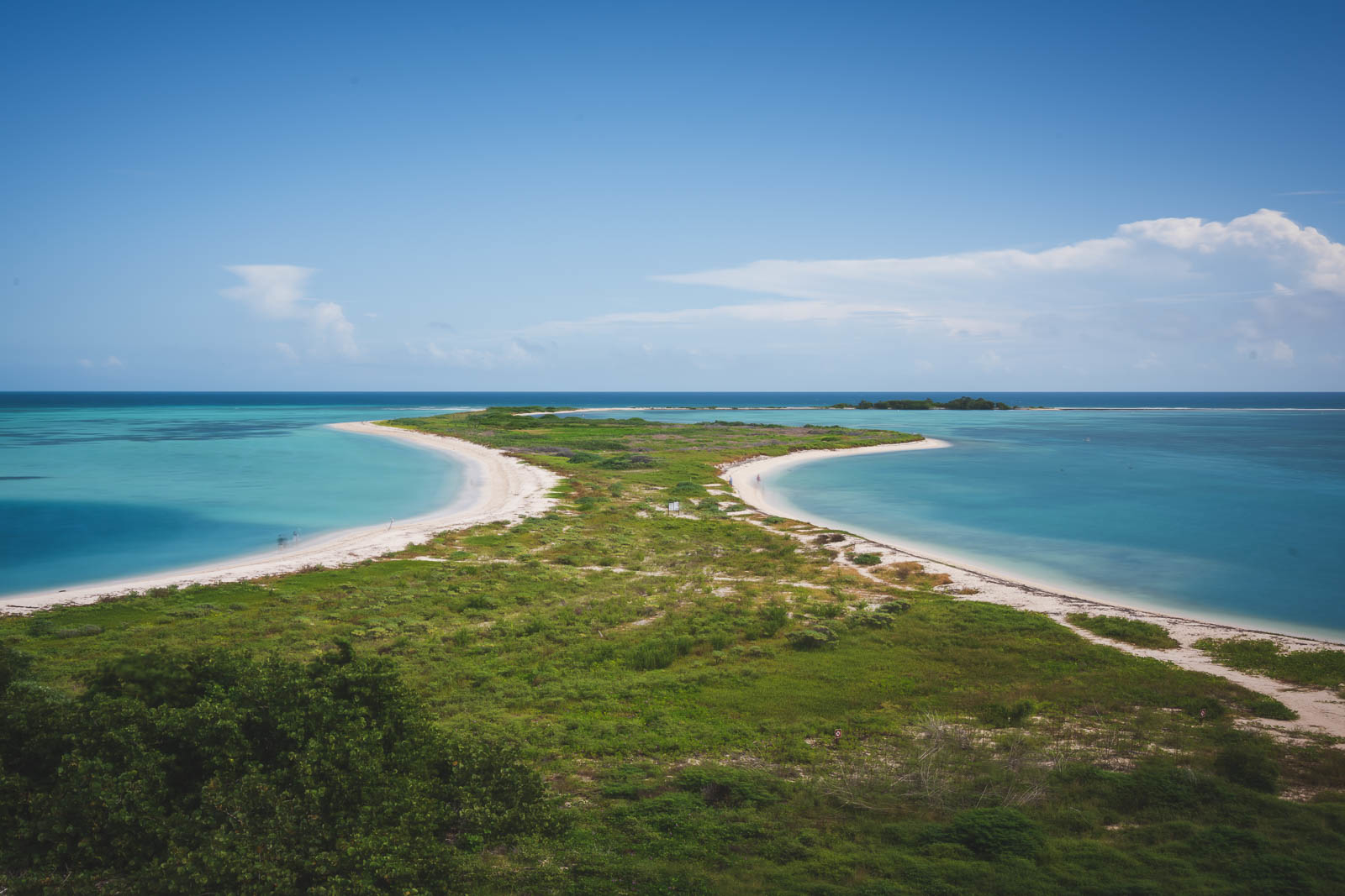 best places to visit in Florida beach at dry tortugas national park