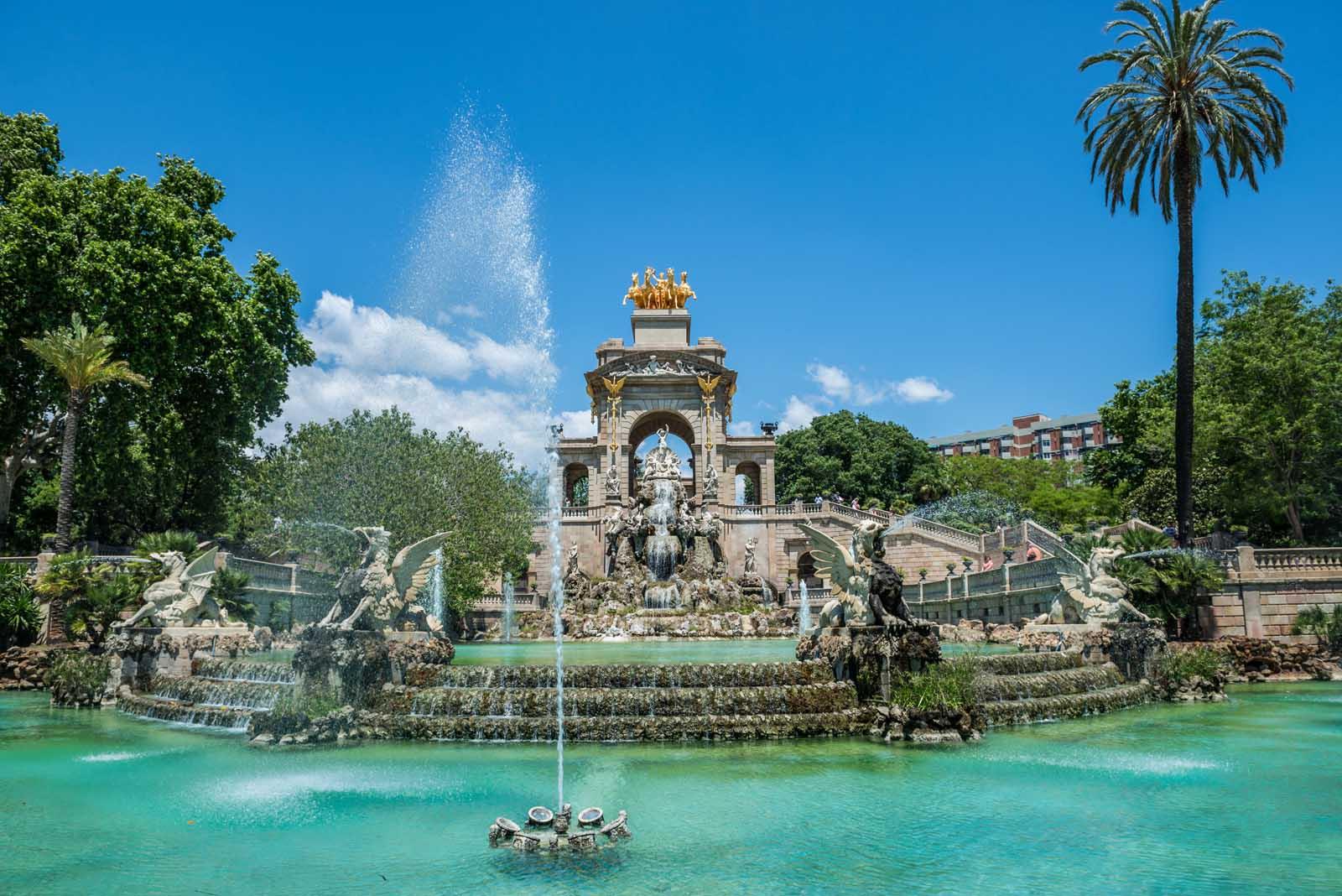 Casacada Fountain in Barcelona