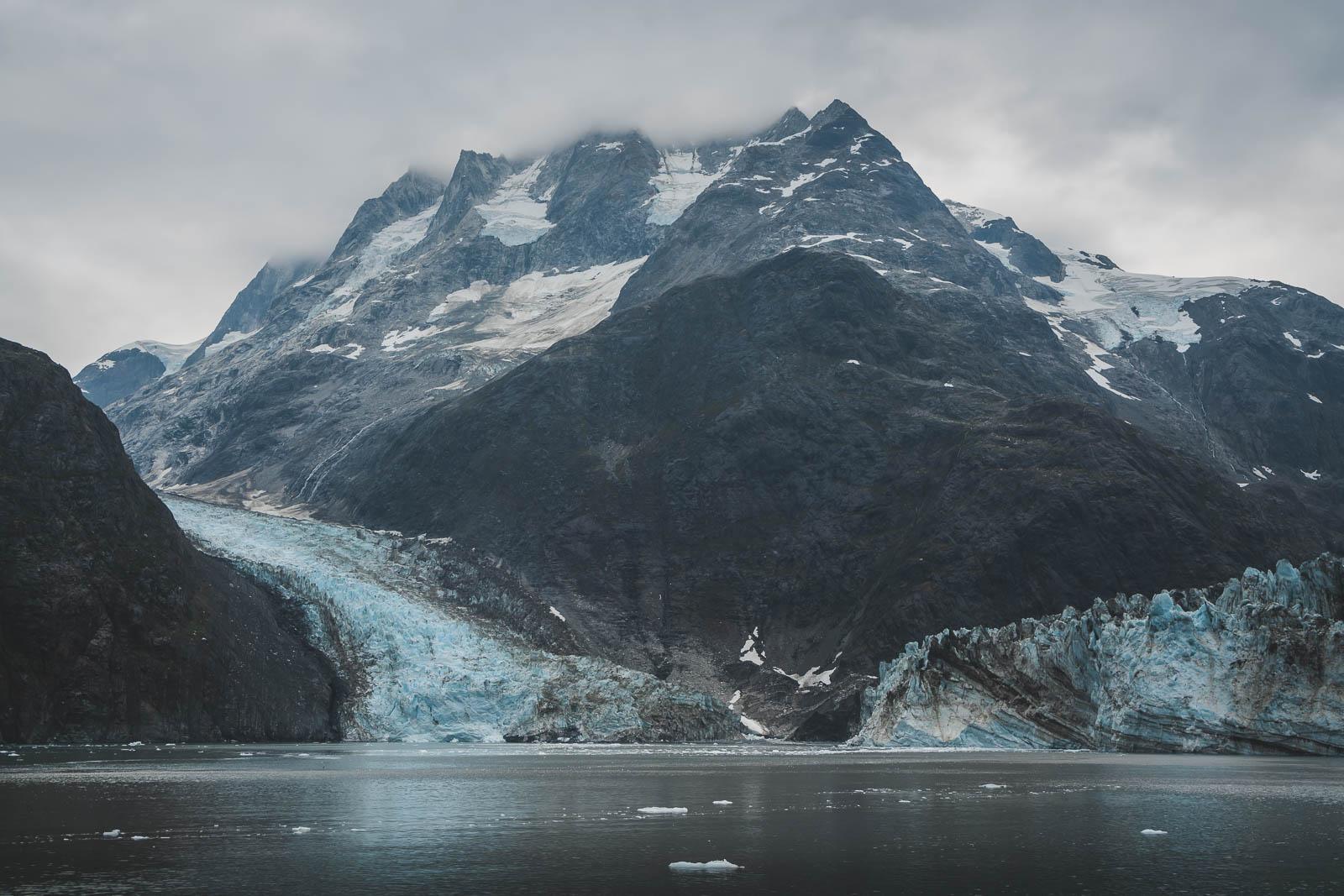 Prince William sound in Alaska