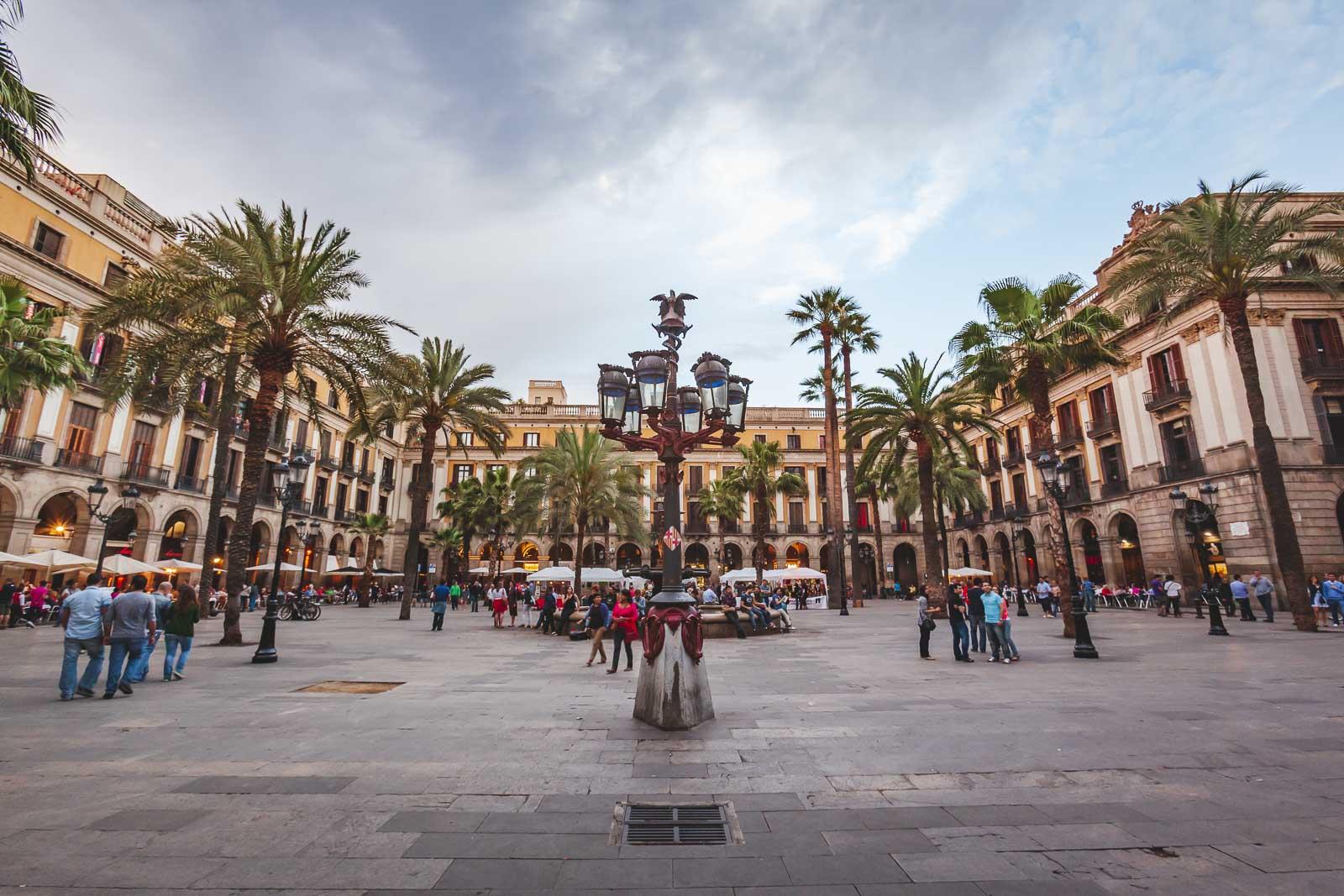 ciutat vella  in Barcelona