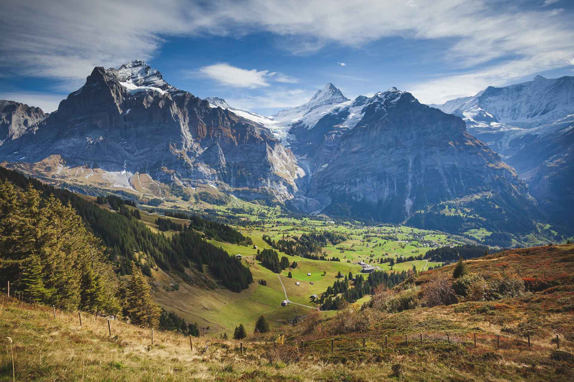 swiss alps places in europe