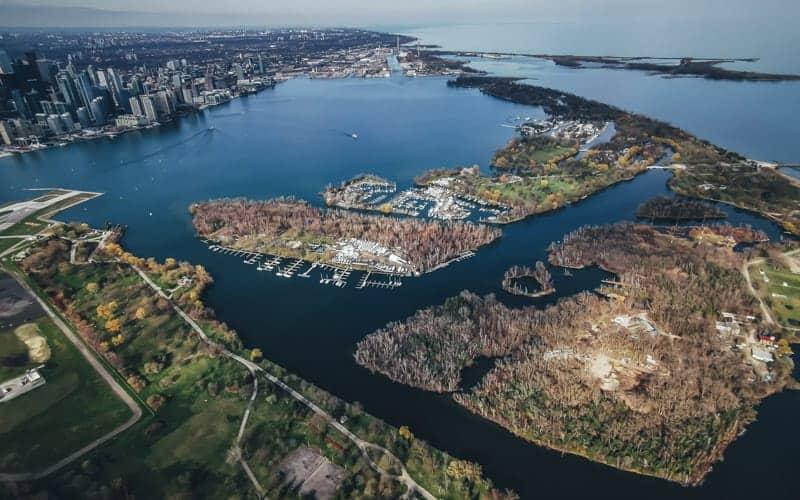 The Toronto Islands of Ontario