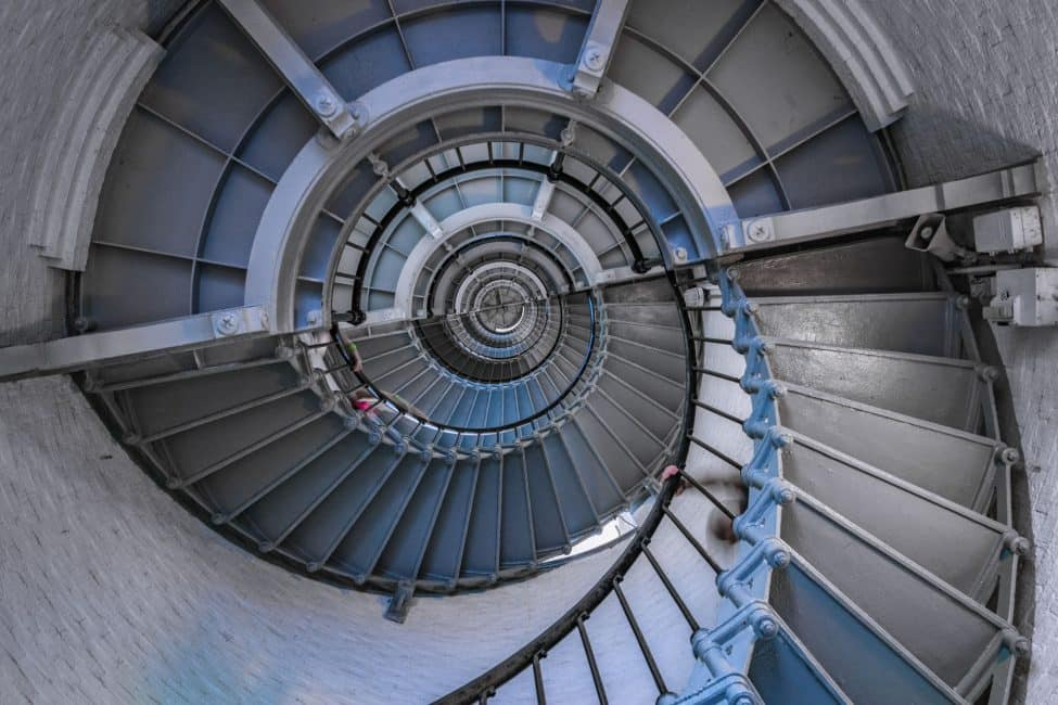 Ponce-de-Leon-Lighthouse-staircase