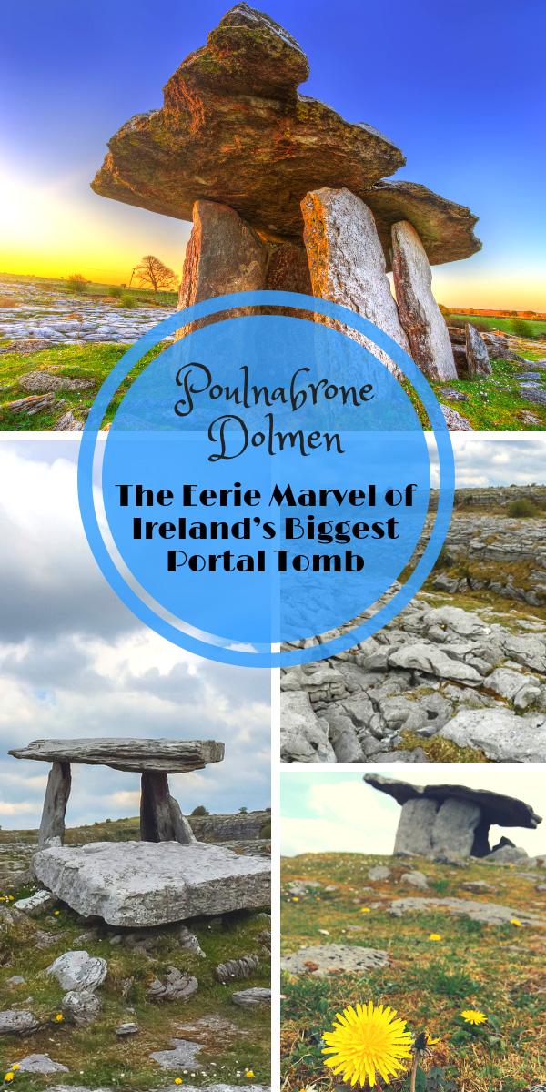 Poulnabrone Dolmen Ireland Pin