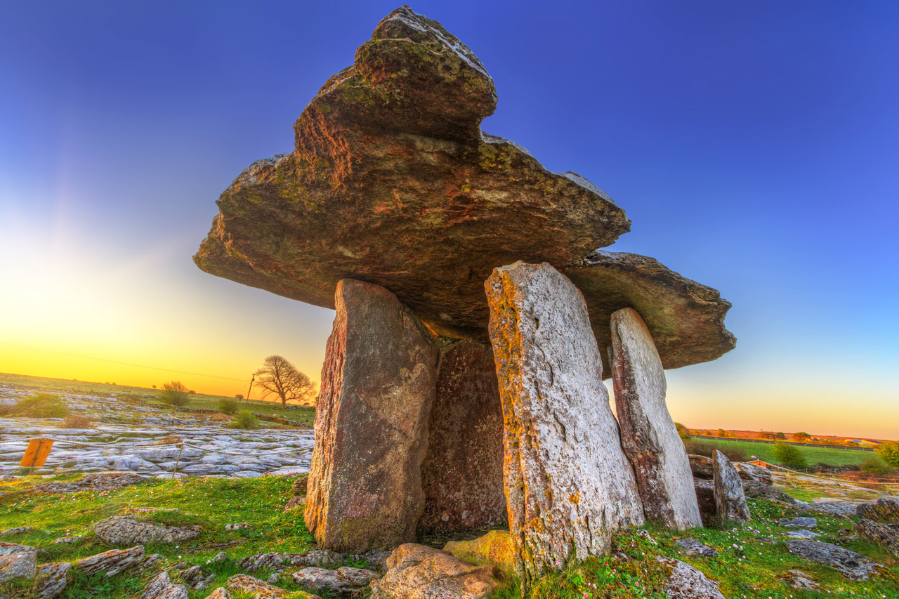Poulnabrone Dolmen: The Eerie Marvel of Ireland's Biggest Portal Tomb