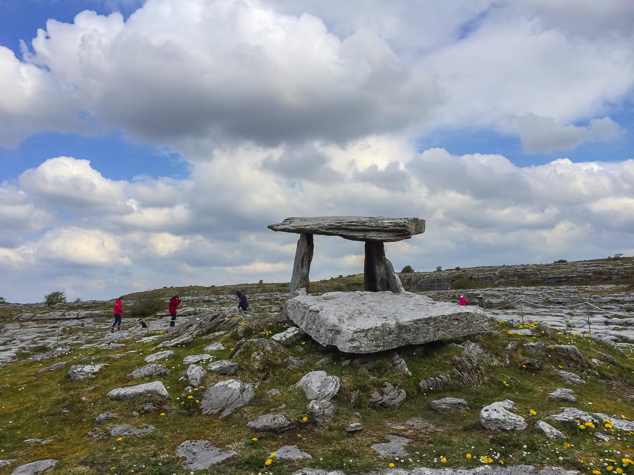 Poulnabrone Dolmen tombstone