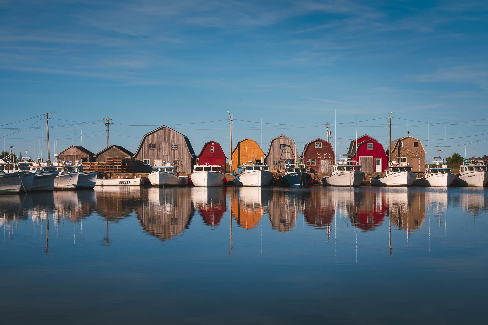prince edward island fish houses