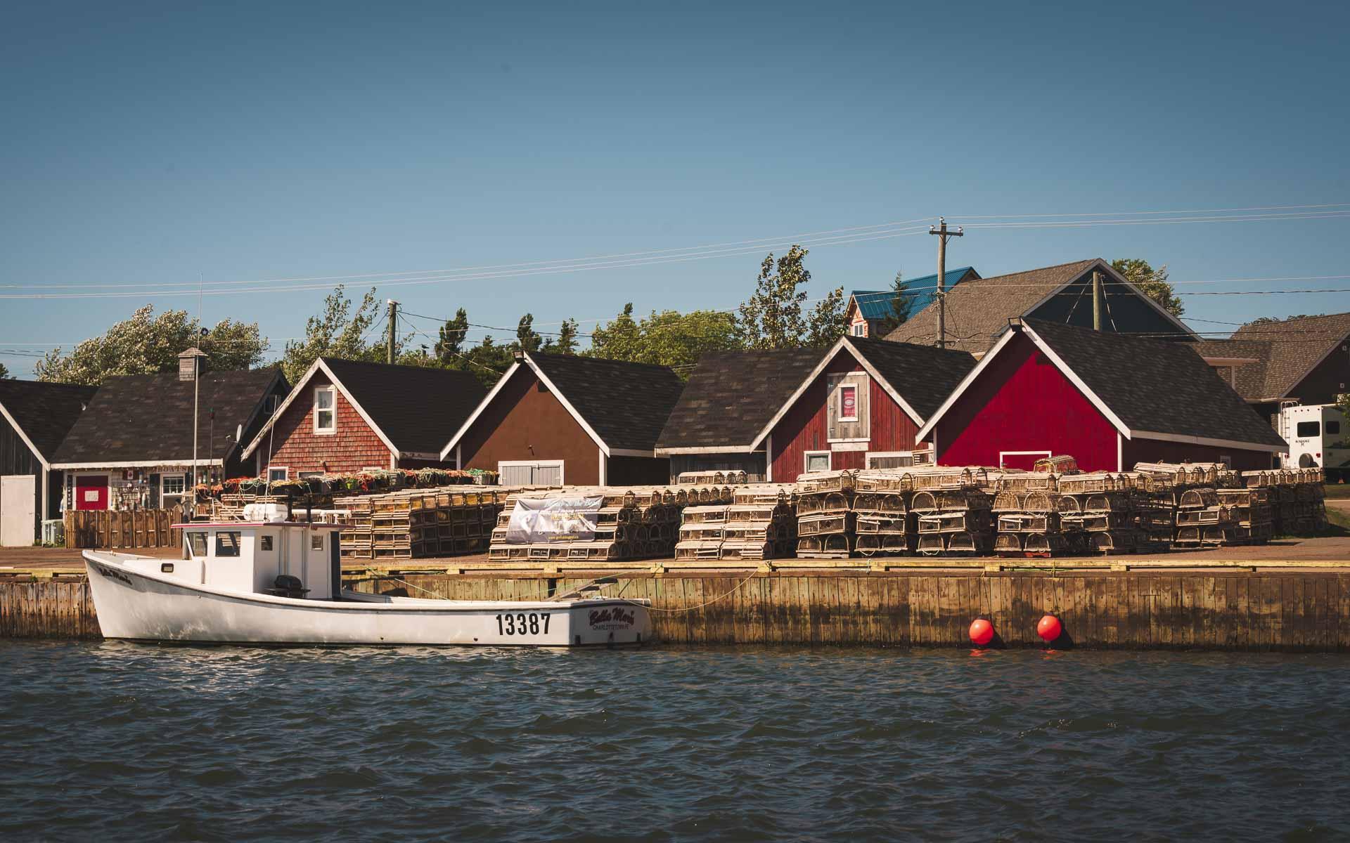 fishing village pei
