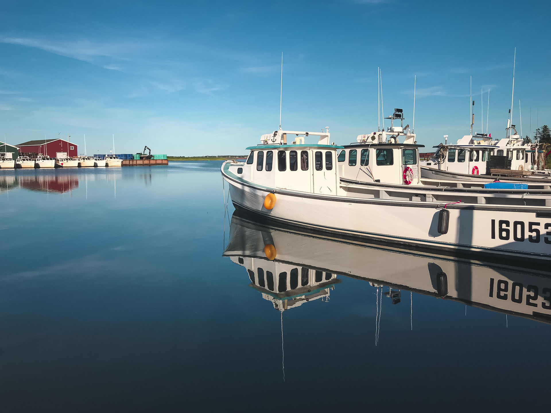prince edward island fishing boats
