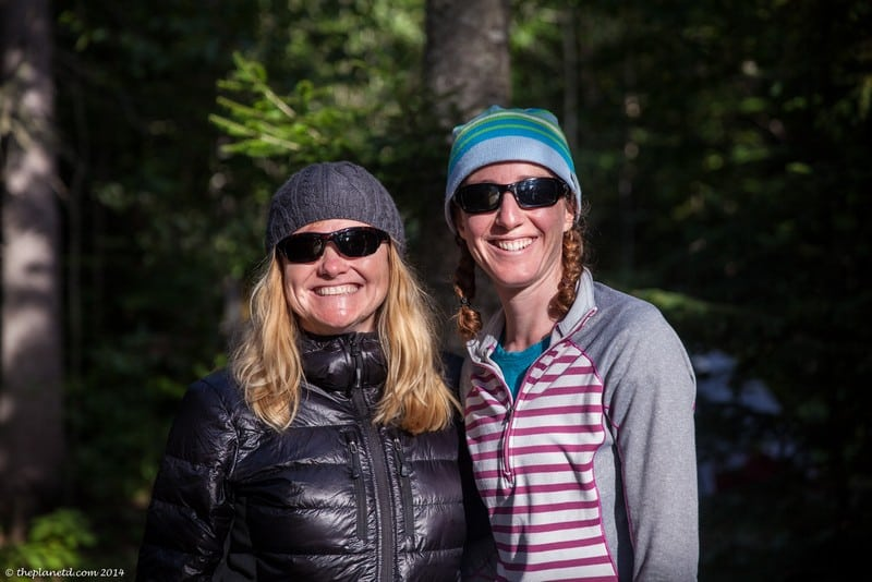 Pukaskwa National Park Ontario - Deb and Annique